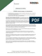26/12/16 Llama ISSSTESON a Detectar Alergias y No Automedicarse -C.1216109