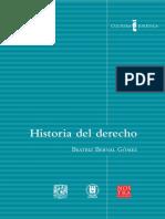 Historia Del Derecho, Coleccion Cultura Juridica