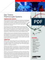 Gas Turbine Thermocouple Systems
