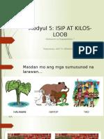 Modyul 5 - Isip at Kilos-Loob