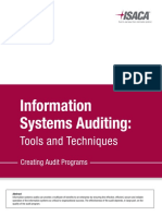 Is Auditing Creating Audit Programs Whp Eng 0316