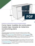 HomeMuebles de cocinaMelaminaPlanos mueblesCocina mueblesMuebles de Melamina.docx