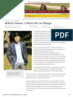 Robert Conner Heart Set on Change Profile