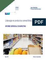 IGM Liderazgo en Productos Comestibles 2010. Ipsos Perú. 2011.