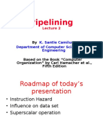 Pipelining- Lecture 2