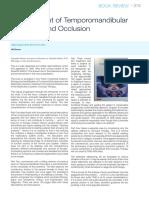 (Book Review) Management of Temporomandibular...