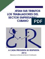 Pago de Tributos Para Trabajadores Del Sector Empresarial