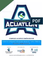 El Acuatlón - Marzo 12 - 2017 -Liga de Triatlón de Bogotá.