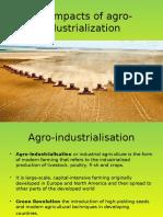 Agro Industrialization
