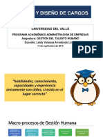 Sesion IV - Analisis y Diseño Cargos