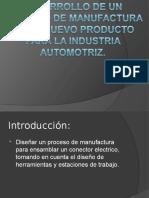 Desarrollo de Un Proceso de Manufactura de Un DIPLOMADO