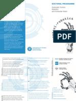 UPC Robotics Doctoral Programme