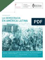 La Democracia en América Latina. Autor