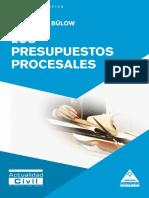 Bülow (2015). Los presupuestos procesales.pdf
