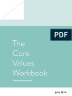 Core Values Workbook