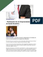 Anis Ghattas Mitri Filho - Realizações de Um Empreendedor Do Setor de Saúde Brasileiro