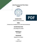 Trabajo Corte Penal Internacional