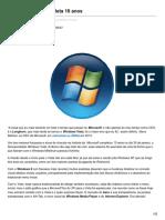 Windows Vista Completa 10 Anos