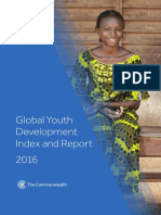 2016 Global Youth Development Index and Report
