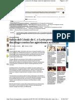 XI Salón del Cómic y Manga de Castilla y León. Rueda de Prensa en La Vanguardia