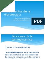 Fundamentos de La Hidroterapia