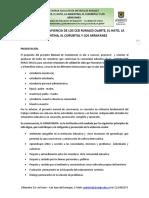 Manual de Convivencia 2015 Aprobado c.d. 10-11-14
