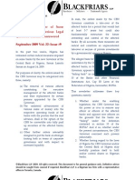 Capital Markets Newsletter Sept2009