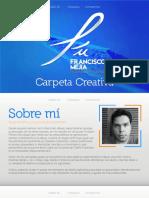 Carpeta Creativa Francisco Mejía