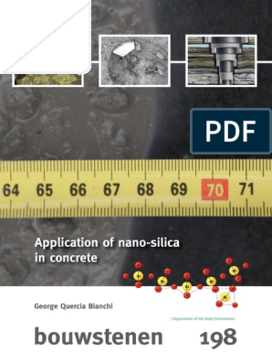 Phd Thesis G Quercia B198 2014 Nanotechnology Concrete