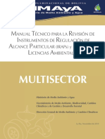 Manual Tecnico Multi-Sector MMAyA