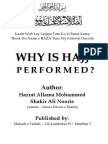 Why is Hajj Performed