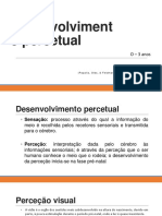 O Desenvolvimento Sensorial e Perceptual-Annotated