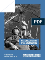 Drilling and Well Engineering Course Leaflet