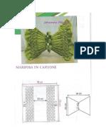 Cojin Mariposa en Capitone