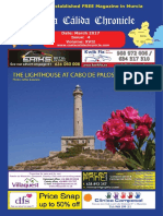 Costa Cálida Chronicle's monthly magazine March 2017
