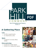 Park Hill Commons project planned for Park Hill