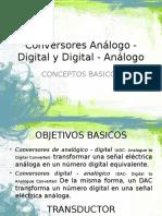 Conversor Analogo Digital