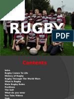 Rugby Presentation - Paul