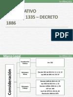DECRETOS 1886