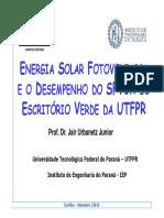 Escritorio verde UTFPR