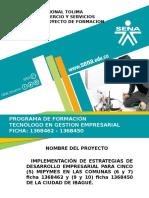 Presentación Proyecto Gestion Empresarial