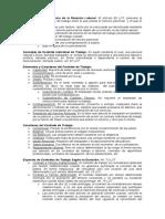 Contrato de Trabajo, Ley Derogada