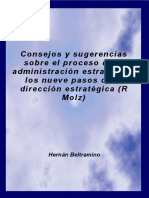 Matriz Deb Oport Fort Amen Consejos y sugerencias sobre el proceso de la administración es