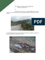 Drenaje - Informe de Campo