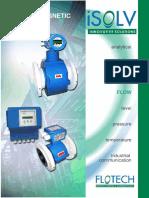 Spesifikasi Electromagnetic Flowmeter