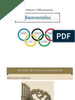 Olimpiadas de La Historia