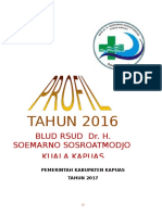 Profil RSUD dr. H. Soemarno Sosroatmodjo Tahun 2016