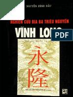 Địa chí Vĩnh Long - Nguyễn Đình Đầu