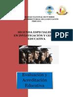 Evaluacion y Acreditacion Educucativa