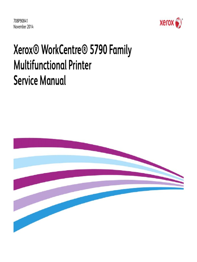 Xerox Workcentre 5790 Family 5735 5740 5745 5755 5775